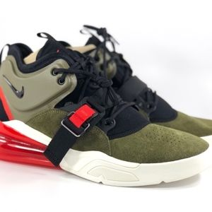 2f9d1eb882 Nike Shoes | Air Force 270 Medium Olive Green Black Red | Poshmark